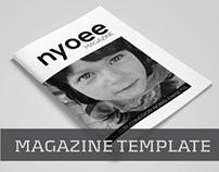 Magazine Template Vol.04