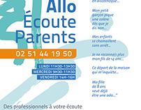 association Allo Écoute Parents - identity