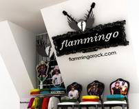 Flamingo Stand