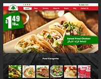 Web Design for a Restaurant