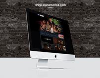 WGN America - Website design