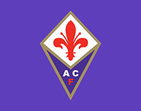 ACF Fiorentina official online store graphic design
