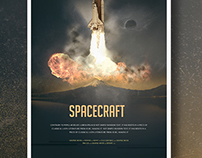 Spacecraft Poster Template