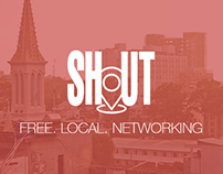 Shout Logo Design