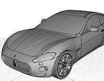 2015 - Maseratti GT B-Class modeling