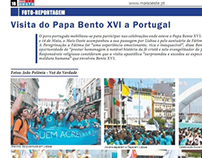 Visita do Papa Bento XVI a Portugal