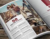 Creative Lifestyle Magazine Template 2