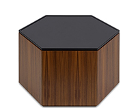 Polygon Storage - Hexagon Coffee Table