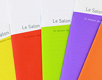 Le Salon de musique - editorial design