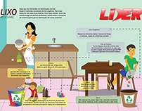 Ilustração Revista Líder 8ª Edição