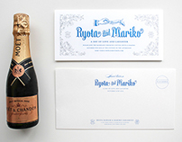 Wedding Invitation for Ryota&Mariko