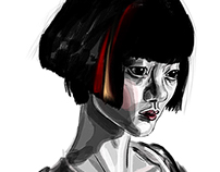 Sonmi-451 (Bae Doona) from Cloud Atlas.