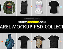 ShirtMockup.com Apparel Mockup PSD Collection