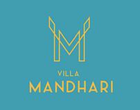 Villa Mandhari branding
