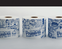 Premium tissue packaging