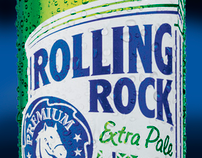 Rolling Rock Beer / Pitch
