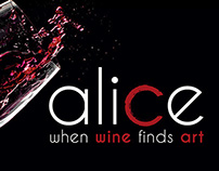 Alice - when Wine finds Art