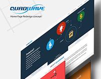 quadwave.com Redesign concept