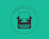 Logo design for writer