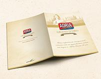 Folder Receita Adria Grano D'oro