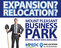 Billboard for Local Business Park