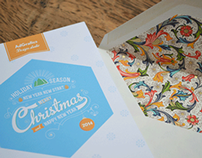 Corporate christmas card for AdGrafics Design Studio