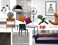 moodboards of interior design