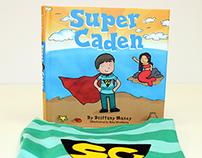 Original Illustrated Children's Book – Super Caden