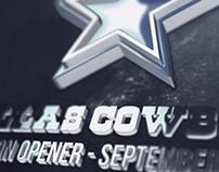 Dallas Cowboys - Season Opener Graphic
