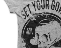 SET YOUR GOALS - SKULLBOWL TEE