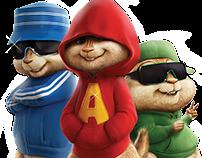DVD Alvin e os esquilos 2 - Fox Filmes