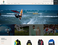 Iris Sports - E-commerce Design