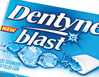 Dentyne Blast | Cool Lime & Winter Chill