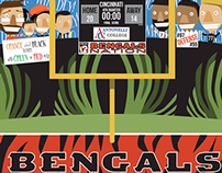 Bengals Nation Photo Backdrop