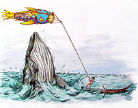 the kite and the whale