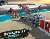Dino Submarine Android Game Post Production