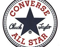 """T-shirt design - """"converse"""""""