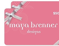 Gift Card Design - Client Work /Promotional Material