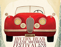 2014 Concours d'Elegance Poster