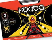 KOOBA | Revolutionary Magentic Target Game | Packaging