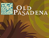 Old Pasadena Lamp Post Banner.