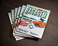 Revista Bagagem - Editorial Design