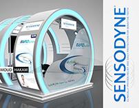 sensodyne booth