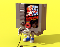 3D NES Game
