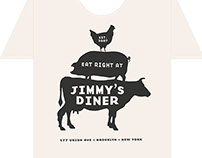 Jimmy's Diner Graphic Tee