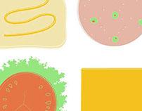 Sandwich Grid