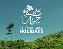 Jannath Lanka Holidays - Logo