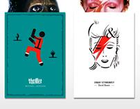 Posters {pictográfico e tipográfico}