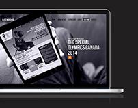 Backbone website