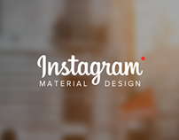 Instagram | Material Design